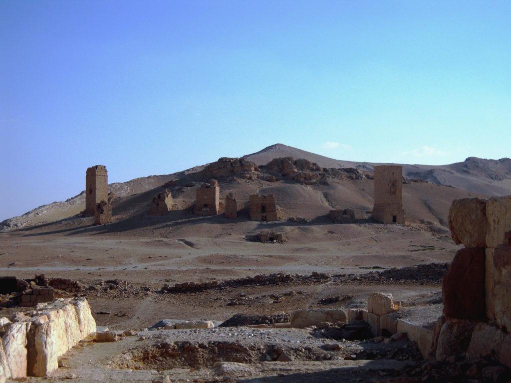 La Vallée des Tombeaux - Syrie 2010