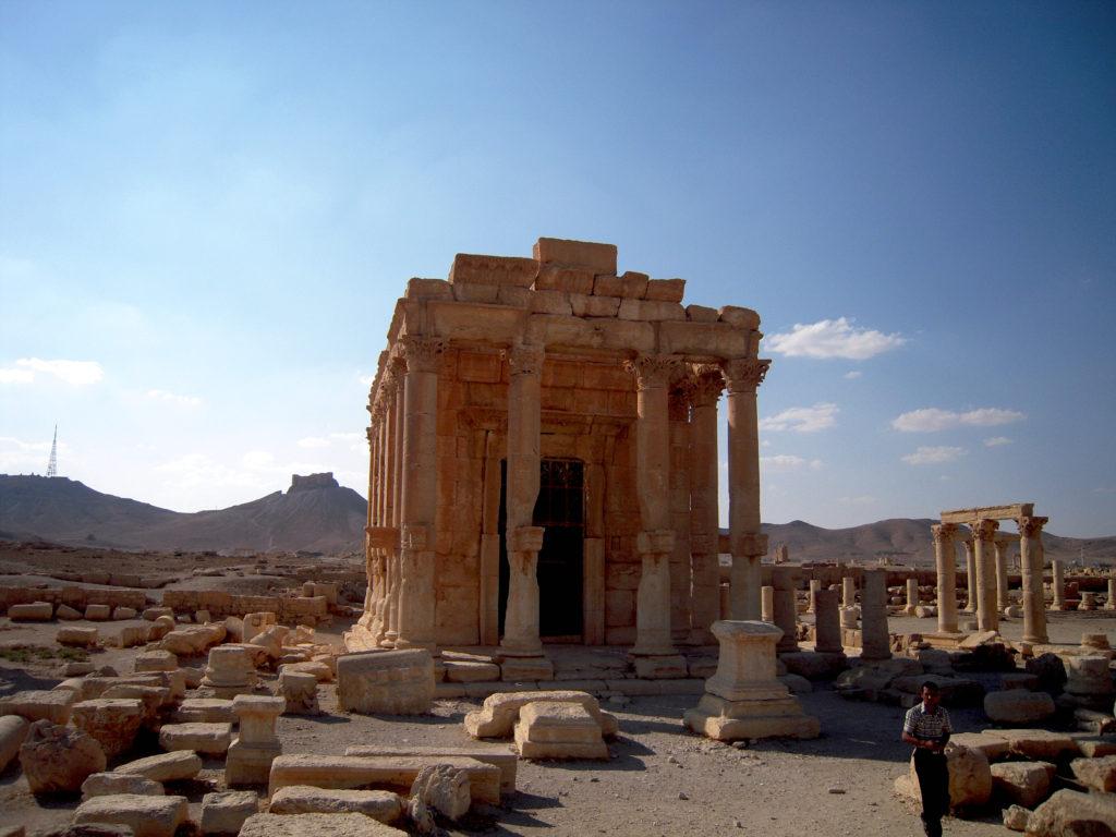 Temple de Baal Shamin - Syrie 2010